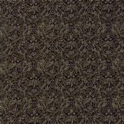 Moda - Morris Holiday Metallic - 5882 - V&A Wreathnet Floral in Black - 7314 14M - Cotton Fabric